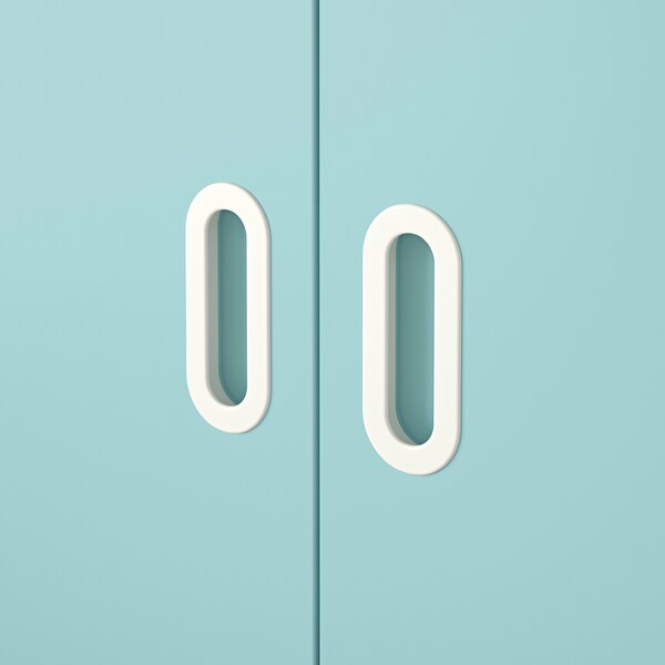 FRITIDS Door, light blue, 60x64 cm 2 pack