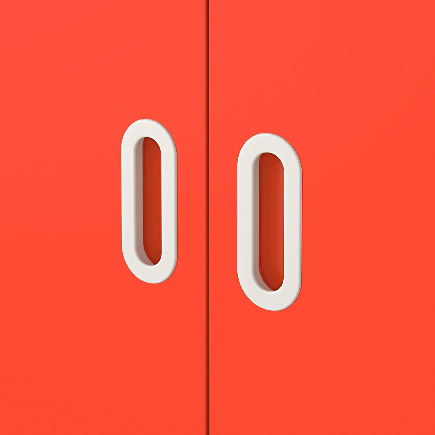 FRITIDS Door, red, 60x128 cm 2 pack