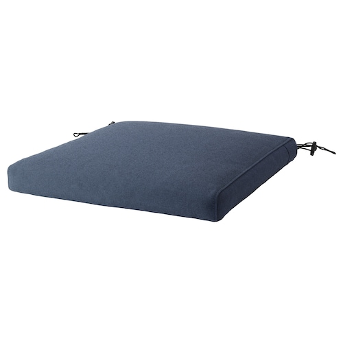 FRÖSÖN/DUVHOLMEN chair cushion, outdoor blue 44 cm 44 cm 5 cm