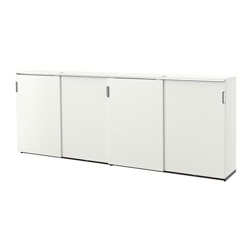 Galant Ikea galant storage combination w sliding doors white ikea