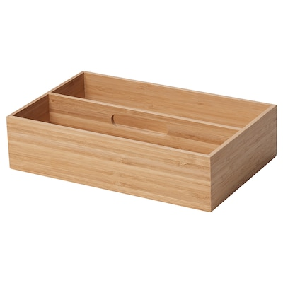 GETEBOL Cutlery tray, bamboo, 18x28 cm
