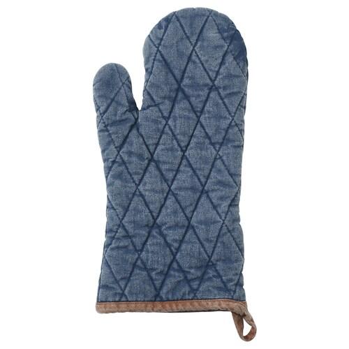 GRILLTIDER oven glove blue 35 cm
