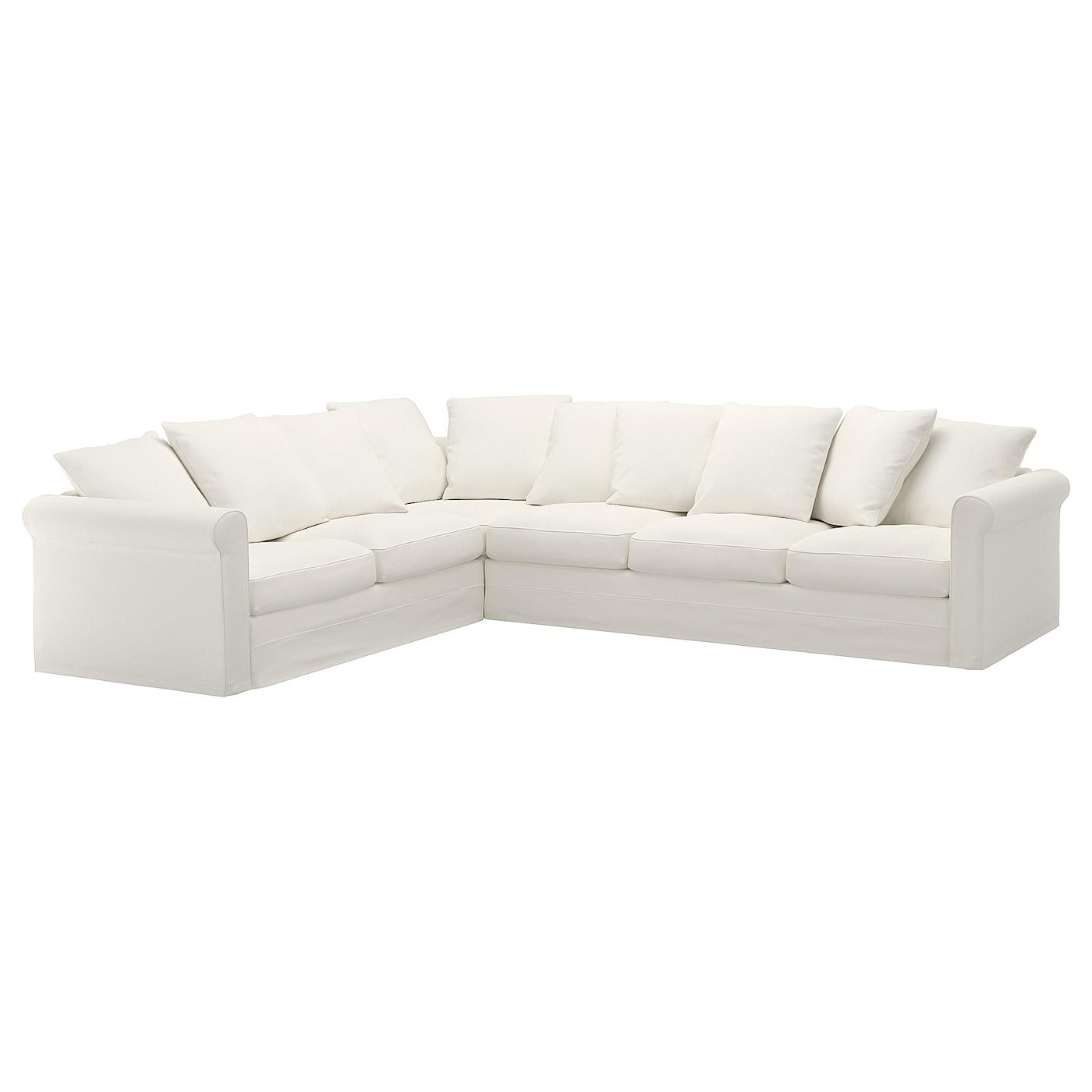 Corner Sofa 5 Seat Inseros White