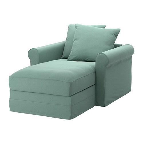 gr nlid chaise longue ljungen light green ikea