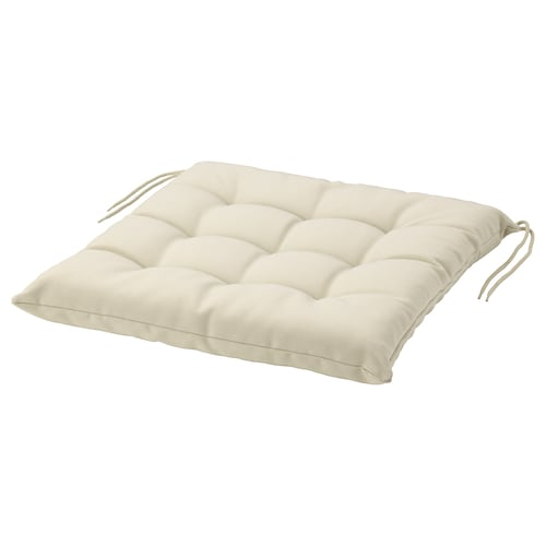 HÅLLÖ chair cushion, outdoor beige 44 cm 44 cm 6 cm