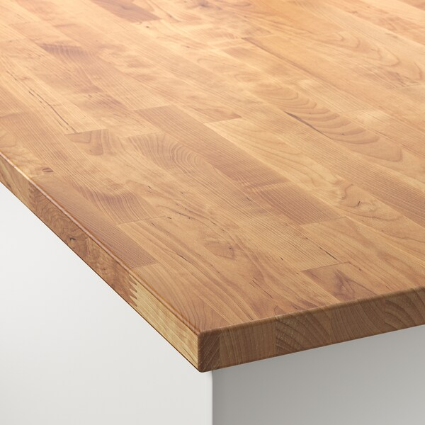 Hammarp Worktop Birch Solid Wood Ikea