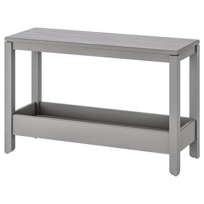 HAVSTA Console table, grey, 100x35x63 cm