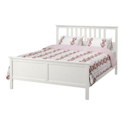 hemnes bed frame 160x200 cm l nset ikea. Black Bedroom Furniture Sets. Home Design Ideas