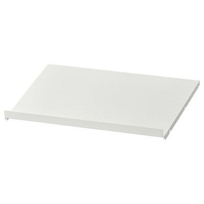 HJÄLPA Shoe shelf, white, 60x40 cm