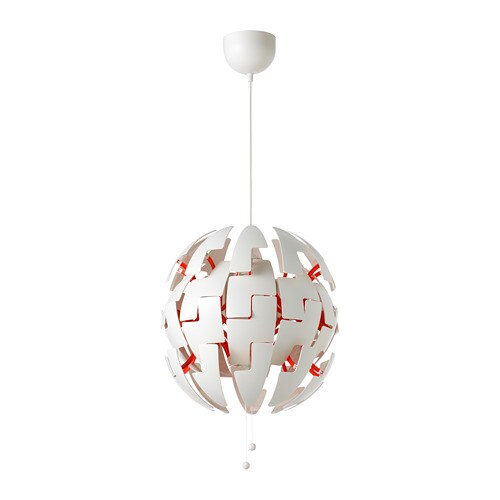 Ikea Ps Pendant Whitered 2014 Lamp UzVpSM