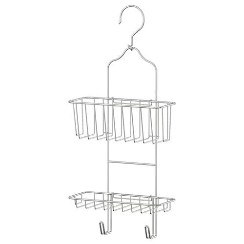 IMMELN shower hanger, two tiers zinc plated 24 cm 11 cm 53 cm
