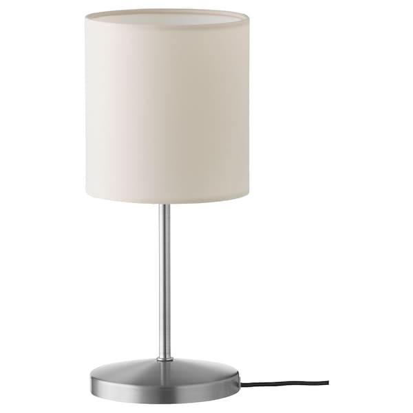 INGARED Table lamp, beige, 30 cm