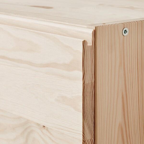 IVAR Chest of 3 drawers, pine, 80x57 cm