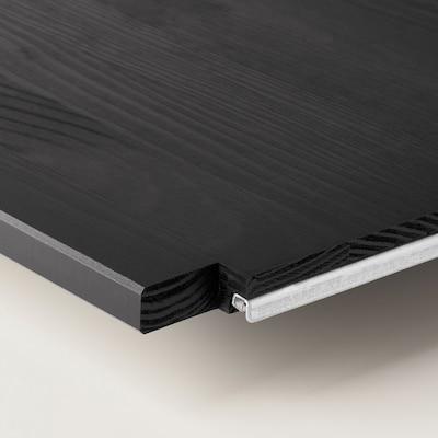 IVAR Shelf, black, 83x30 cm