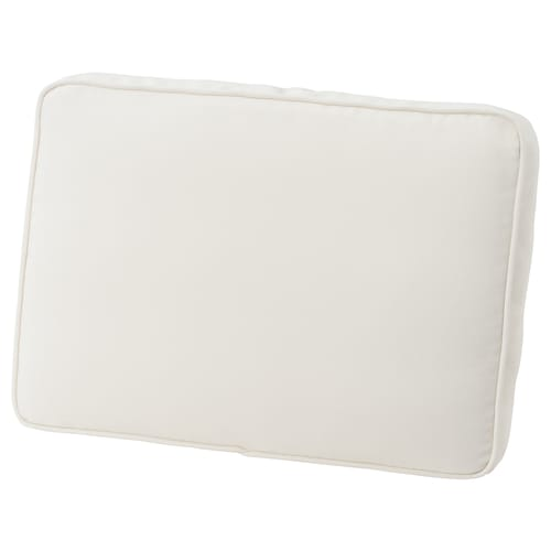 JÄRPÖN cover for back cushion outdoor white 44 cm 62 cm