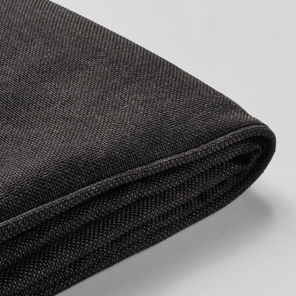 JÄRPÖN cover for seat cushion outdoor anthracite 62 cm 62 cm