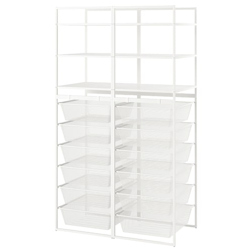 JONAXEL frame/mesh baskets/shelving units 99 cm 51 cm 173 cm