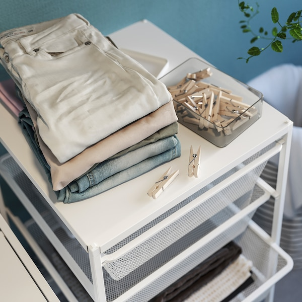 JONAXEL Top shelf for frame, white, 50x51 cm