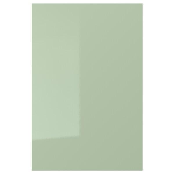 KALLARP Door, high-gloss light green, 40x60 cm