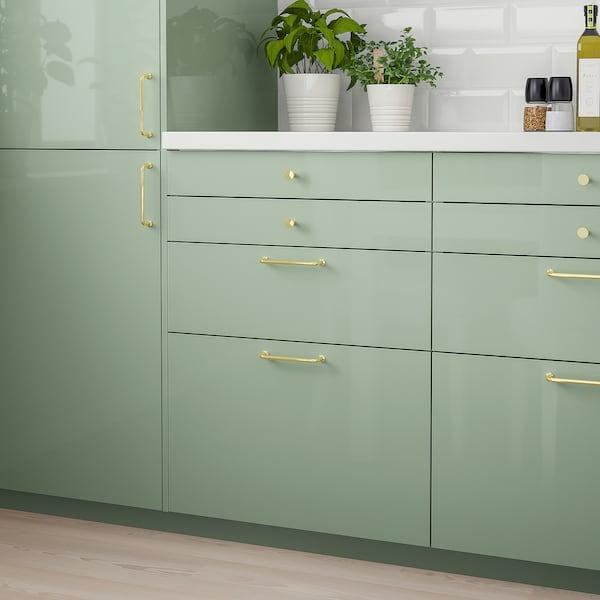 KALLARP Drawer front, high-gloss light green, 60x40 cm