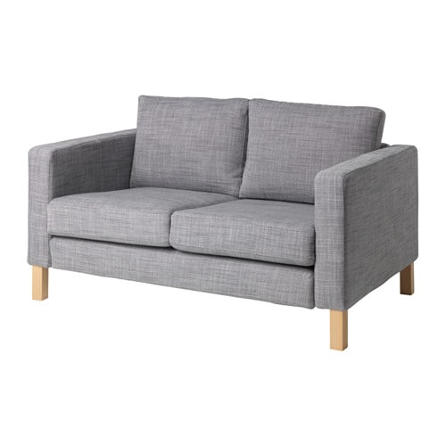 karlstad compact 2 seat sofa isunda grey ikea. Black Bedroom Furniture Sets. Home Design Ideas