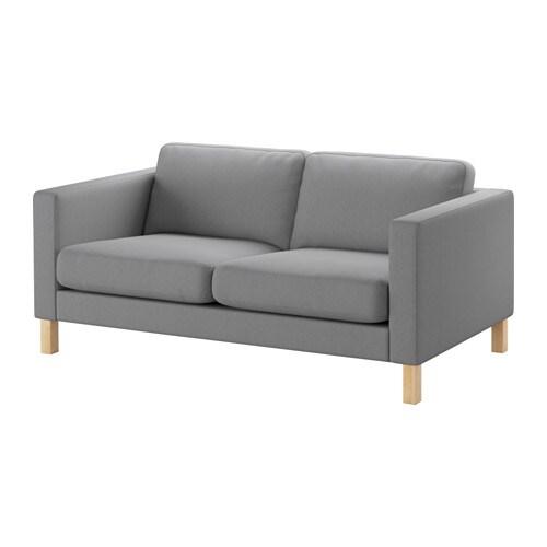 Light Grey Sofa Slipcover: KARLSTAD Cover Two-seat Sofa
