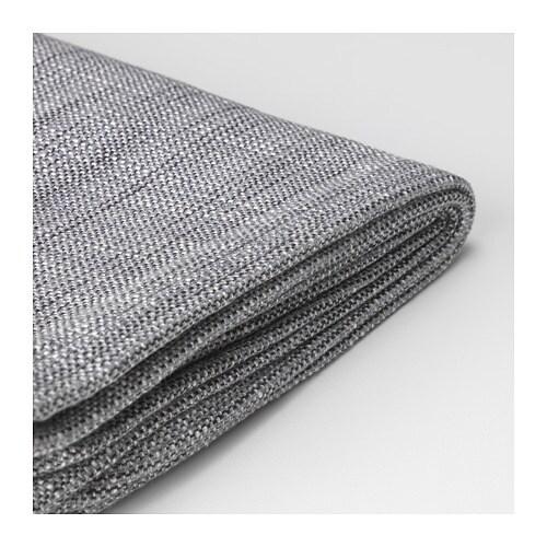 KARLSTAD Cover two-seat sofa - Isunda grey - IKEA