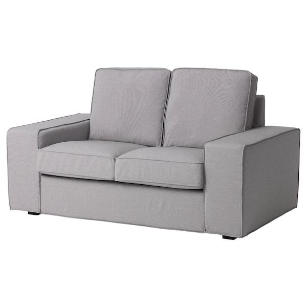KIVIK Compact 2-seat sofa, Orrsta light grey