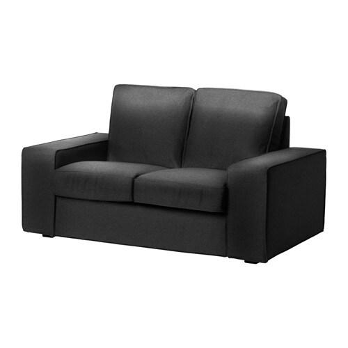 kivik compact 2 seat sofa dansbo dark grey ikea. Black Bedroom Furniture Sets. Home Design Ideas