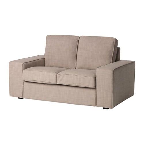 kivik cover compact 2 seat sofa isunda beige ikea. Black Bedroom Furniture Sets. Home Design Ideas