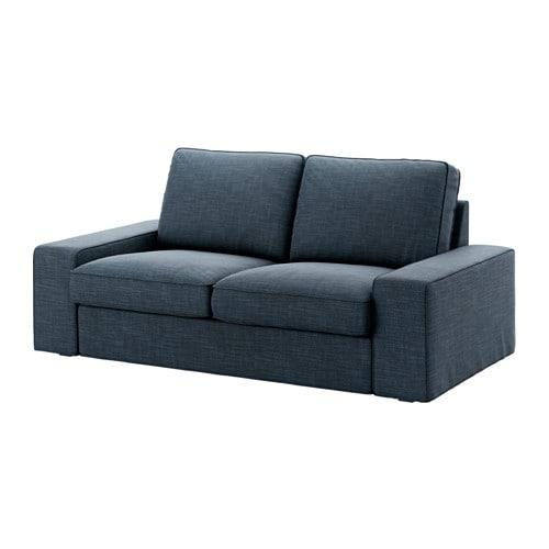 Kivik Two Seat Sofa Hillared Dark Blue