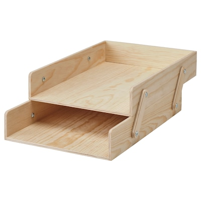 KLÄMMEMACKA Letter tray, natural plywood