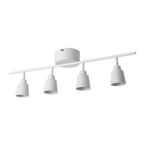 Knutbo Ceiling Spotlight With 4 Spots Ikea