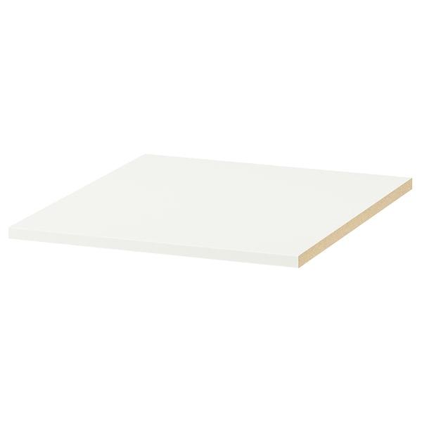 KOMPLEMENT Shelf, white, 50x58 cm