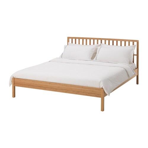 Kongshus bed frame 140x200 cm lur y ikea - Ikea letti matrimoniali imbottiti ...