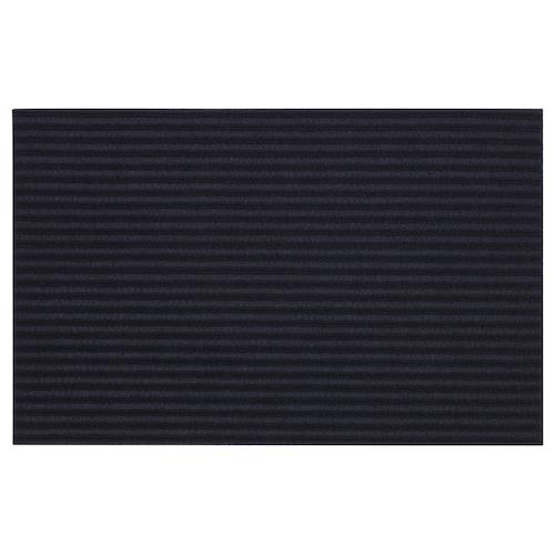 KRISTRUP door mat dark blue 55 cm 35 cm 0.19 m² 680 g/m²