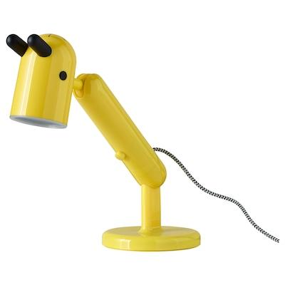 KRUX LED work lamp, yellow