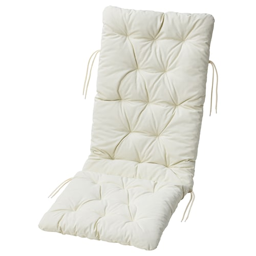 KUDDARNA seat/back cushion, outdoor beige 116 cm 45 cm 72 cm 42 cm 7 cm