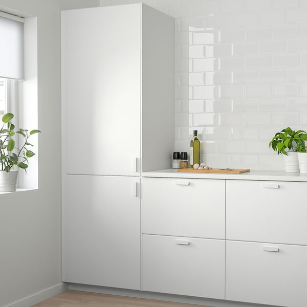 KUNGSBACKA Door, matt white, 60x200 cm