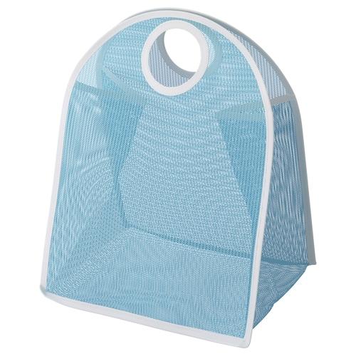 LÅDDAN storage bag blue/white 3 kg
