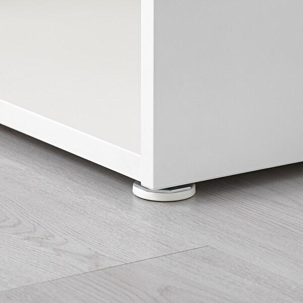 LÄTTHET Leg, adjustable, white