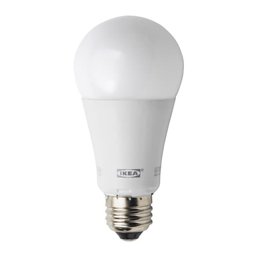 LEDARE LED bulb E26 1000 lumen IKEA The LED light source consumes up to 85% less energy and lasts 20 times longer than incandescent bulbs.