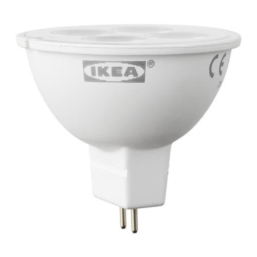 ledare led bulb gu5 3 mr16 200 lumen ikea. Black Bedroom Furniture Sets. Home Design Ideas