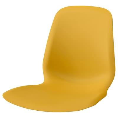 LEIFARNE Seat shell, dark yellow