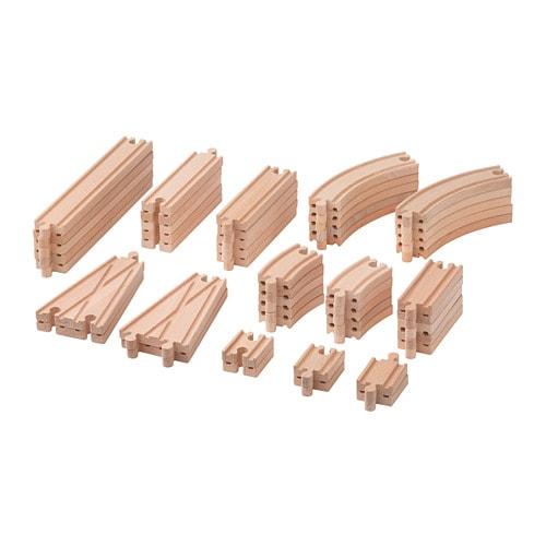 Lillabo 50 Piece Rail Set Ikea