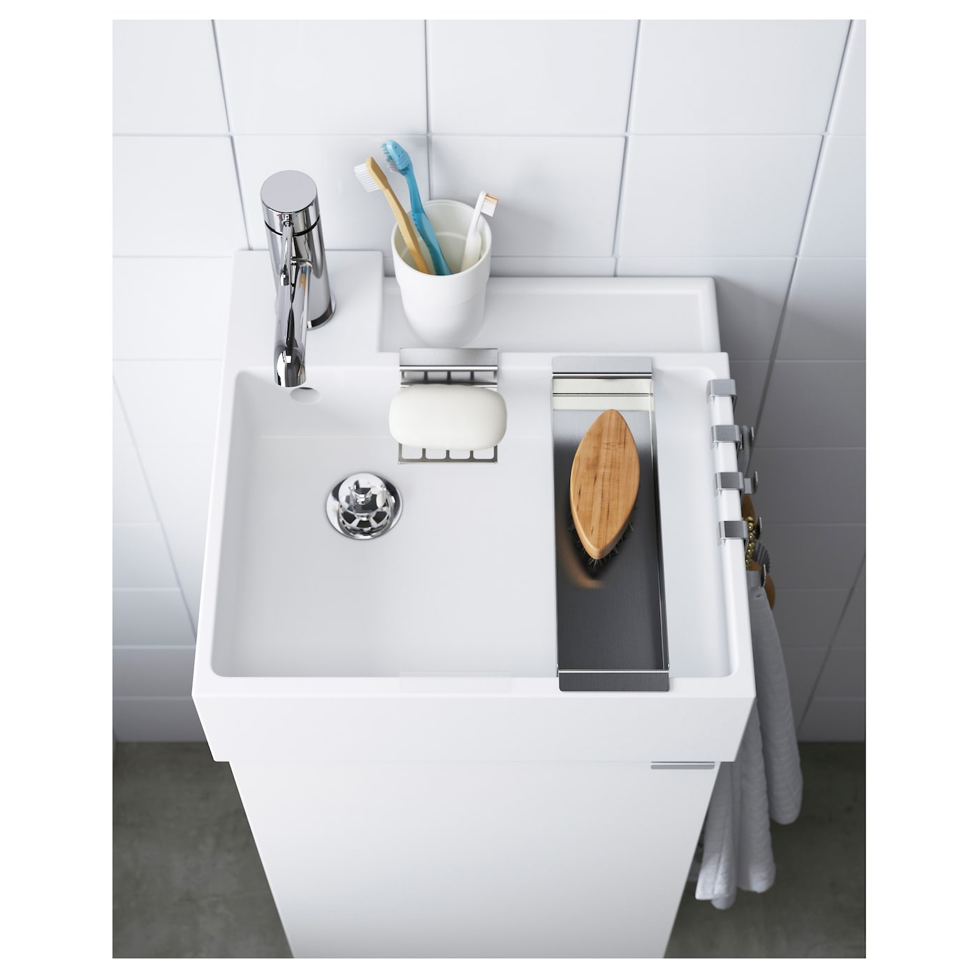 Height Adjustable Pull-out Sink Tap Home Kitchen Basin Laundry Table Dishwash