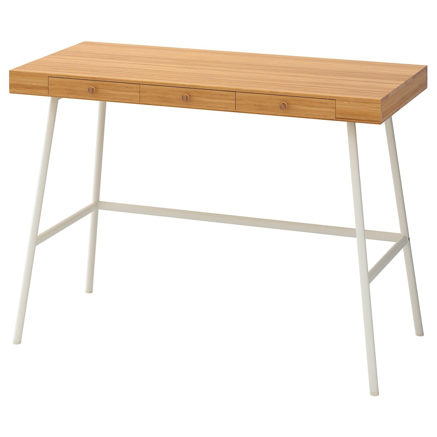 Scrivania Mikael Ikea.Lillasen Desk Bamboo