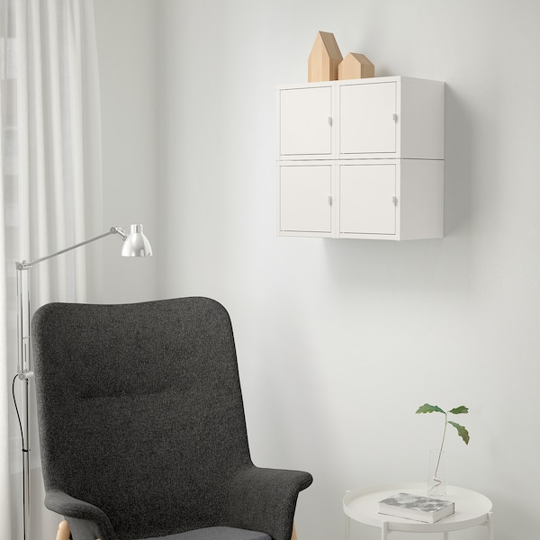 LIXHULT Wall-mounted cabinet combination, white, 50x25x50 cm