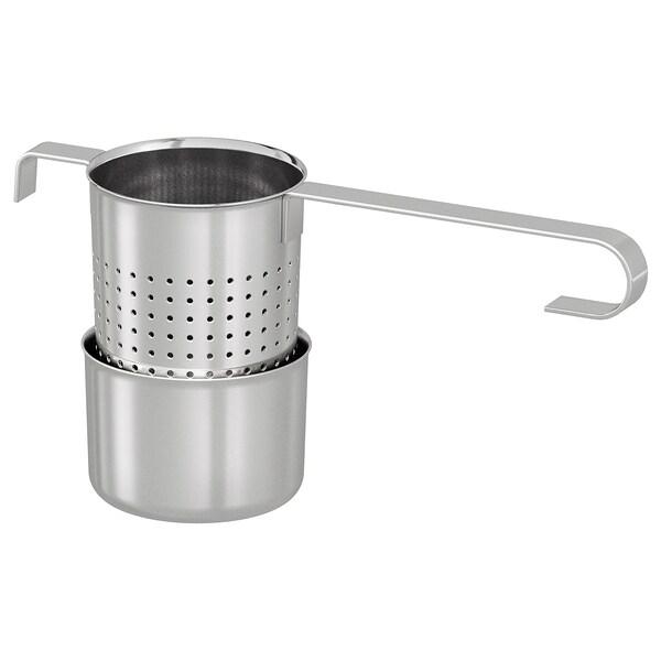 LJUDLÖS Tea infuser, stainless steel