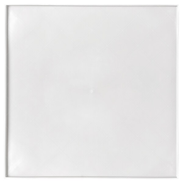 LURVIG place mat for food bowl, with rim white 33 cm 33 cm